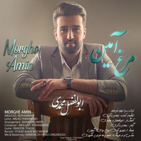 دانلود موزیک جدید ابوالفضل محمدی مرغ آمین