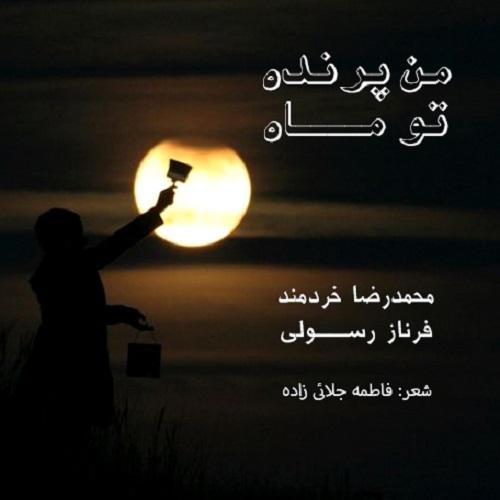 دانلود موزیک جدید محمدرضا خردمند من پرنده، تو ماه